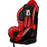 Автокресло Siger Кокон ISOFIX Disney Микки Маус звёзды, 9-25 кг, красное