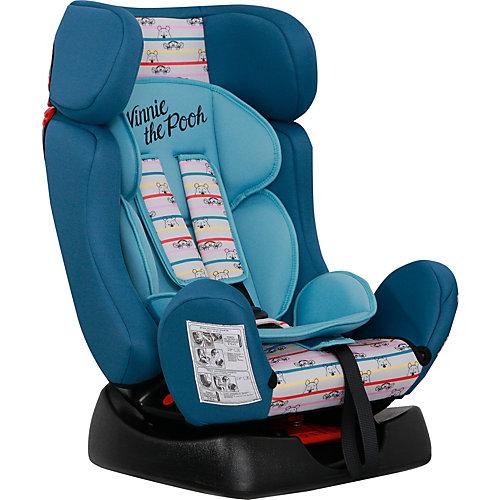 """Автокресло Siger """"Диона"""" Disney Винни Пух полосы, 9-25 кг, бирюзовое от Siger"""