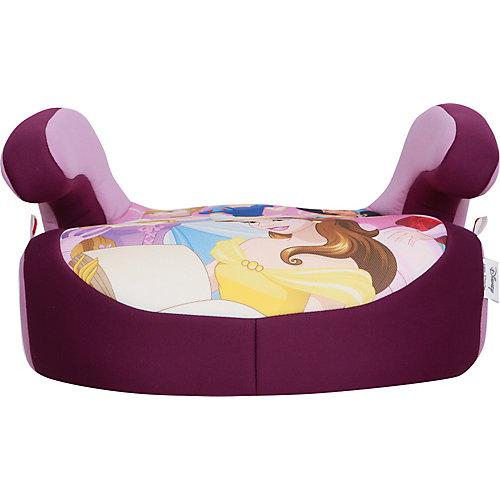 """Автокресло Siger """"Бустер"""" Disney Принцессы, 9-36 кг, фиолетовое от Siger"""