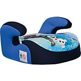 """Автокресло Siger """"Бустер"""" Disney Холодное сердце, 9-36 кг, синее"""
