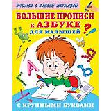 Большие прописи к Азбуке для малышей с крупными буквами, Жукова О.