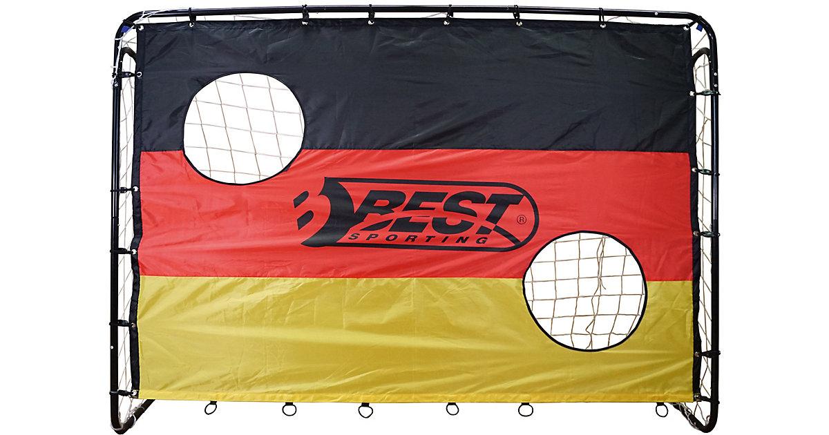 Fußballtor 'Deutschland' schwarz-kombi