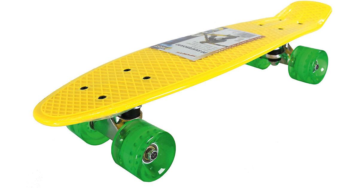 PP Skateboard gelb