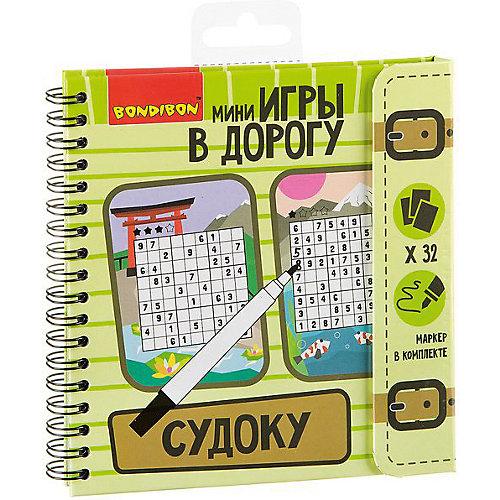 """Развивающие игры в дорогу Bondibon """"Судоку"""" от Bondibon"""