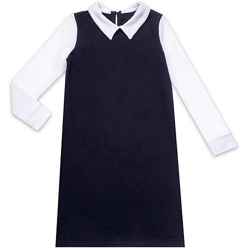 Платье Апрель - синий/белый от Апрель