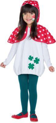 Kostüm Fliegenpilz rot/weiß Gr. 92 Mädchen Kleinkinder
