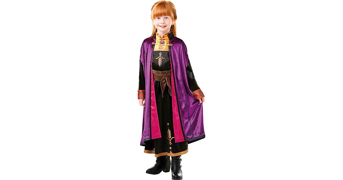 Kostüm Die Eiskönigin 2 Anna Deluxe Gr. 122/140 Mädchen Kinder