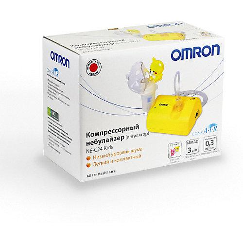 Ингалятор компрессорный Omron NE-C24 Kids - желтый от Omron