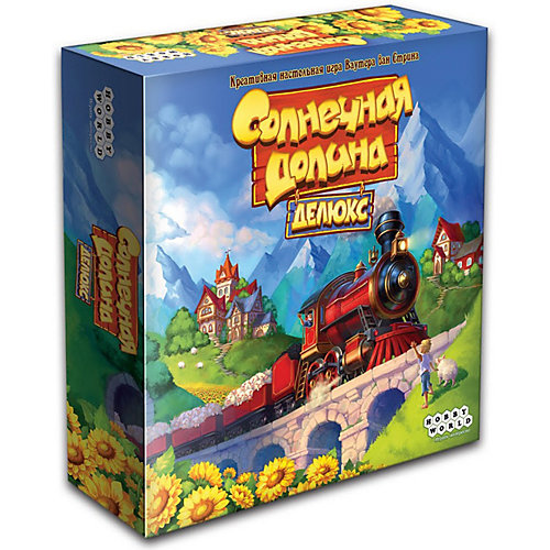 Настольная игра Hobby World Солнечная долина Делюкс от Hobby World