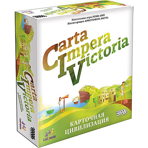 Настольная игра Hobby World CIV: Carta Impera Victoria от Hobby World