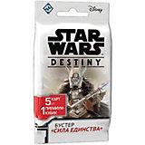 """Настольная игра Hobby World Star Wars: Destiny """"Бустер"""" Сила единства"""