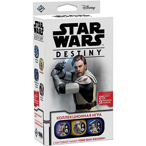 "Настольная игра Hobby World Star Wars: Destiny ""Стартовый набор"" Оби-Ван Кеноби от Hobby World"