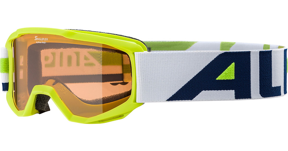 Skibrille Piney lime