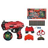 Игровой набор Junfra Бластер с мягкими снарядами, 14 шт