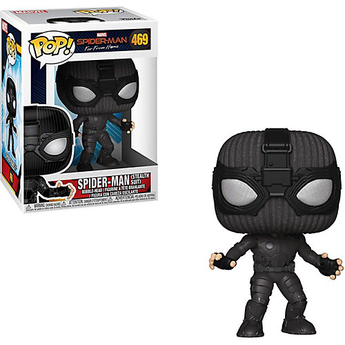 """Фигурка Funko POP! Bobble: Marvel """"Человек-паук: Вдали от дома"""" Человек-паук в стелс костюме, 39208 от Funko"""