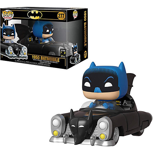 "Фигурка Funko POP! Rides: DC ""Бэтмен"" 80х, Бэтмен на бэтмобиле 1950, 37252 от Funko"
