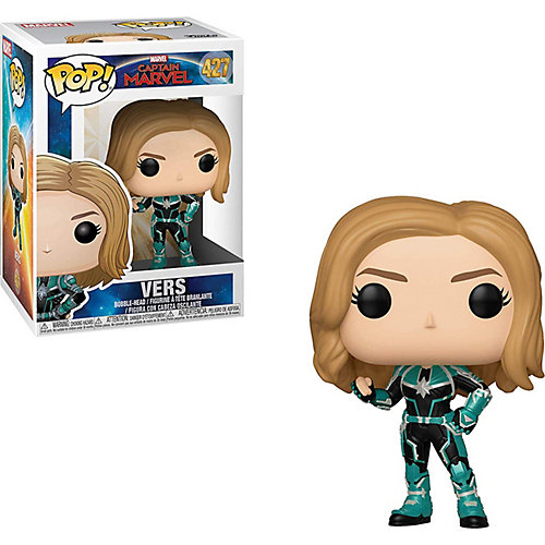 "Фигурка Funko POP! Bobble: Marvel ""Капитан Марвел"" Капитан Марвел в зеленом, 36342 от Funko"