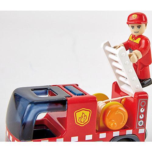 Пожарная машина Hape с сиреной от Hape