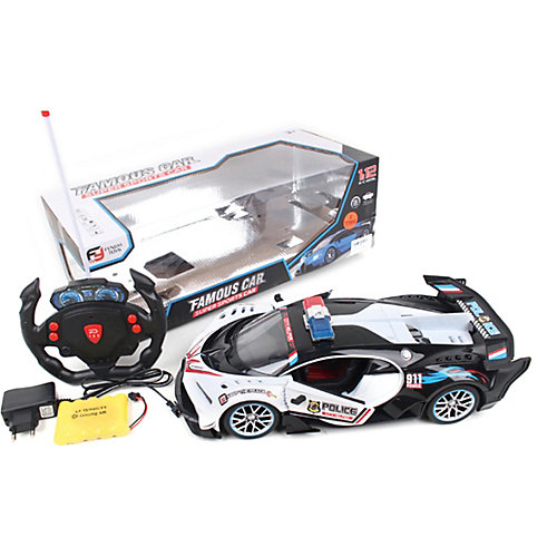 """Машина Наша игрушка """"Полицейский автомобиль"""", свет от Наша Игрушка"""