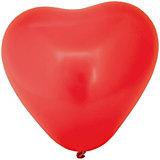 """Воздушные шары Action! """"Сердечки"""" разноцветные, 5 шт"""