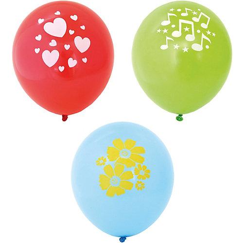 Воздушные шары Action! С одноцветным рисунком, 5 шт от ACTION!