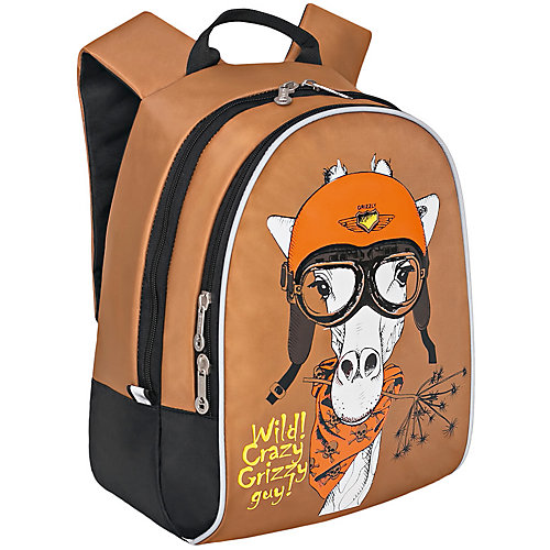Рюкзак детский Grizzly, бежевый от Grizzly