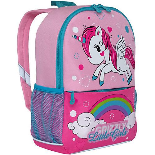 Рюкзак детский Grizzly, светло - розово - розовый от Grizzly