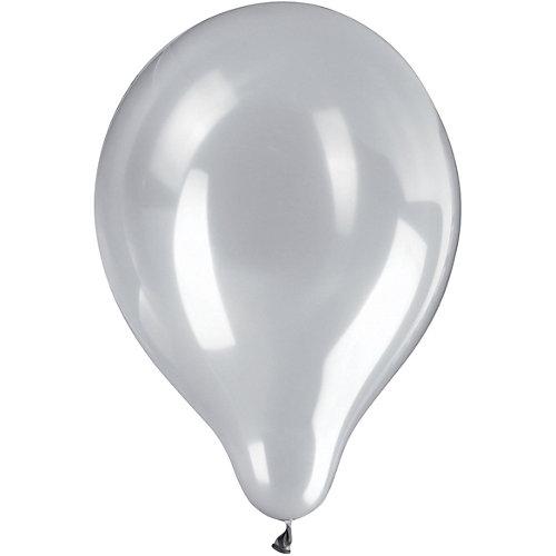 Воздушные шары Zippy, 50 шт, серебряный металлик - серебряный от Zippy