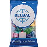 Воздушные шары Веселая затея, 50 шт, металлик