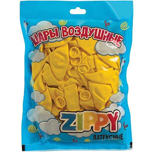 Воздушные шары Zippy, 50 шт, желтые - желтый от Zippy