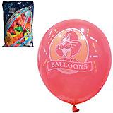 Воздушные шары Веселая затея, 100 шт, неоновые