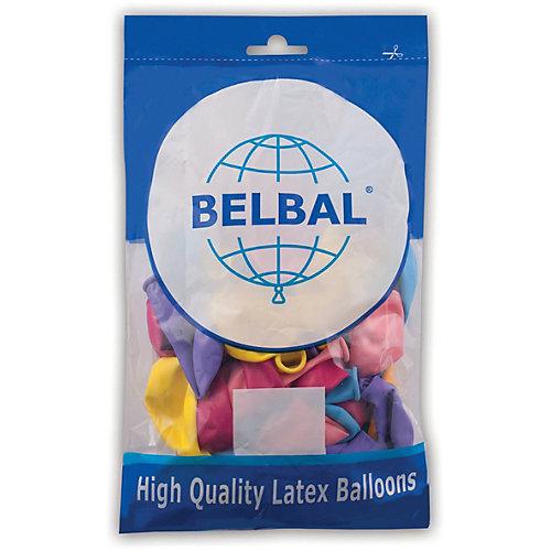 Воздушные шары Веселая затея, 50 шт, пастель - разноцветный от Веселая Затея