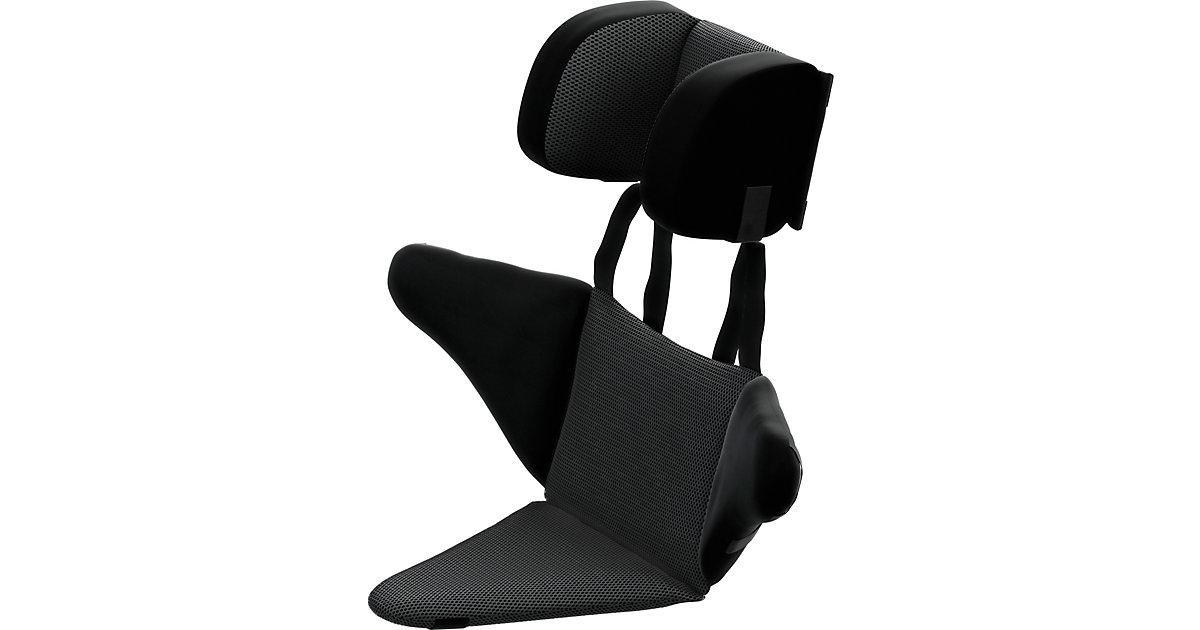 Kopf- und Seitenstütze, schwarz