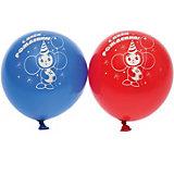 """Воздушные шары Belbal  с рисунком    """"День рождения, Союзмультфильм"""" 50 шт"""