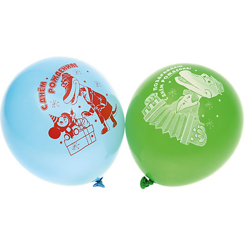"""Воздушные шары Belbal с рисунком   """"День рождения, Чебурашка"""" 50 шт от Belbal"""