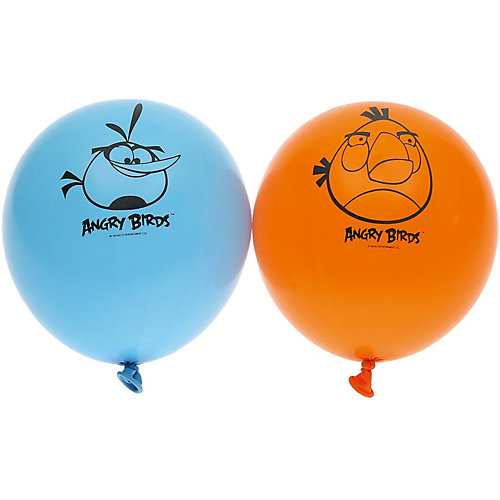 Воздушные шары  Belbal с рисунком   Angry birds 50 шт от Belbal