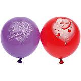 """Воздушные шары  Belbal с рисунком   """"С любовью"""" 50 шт"""