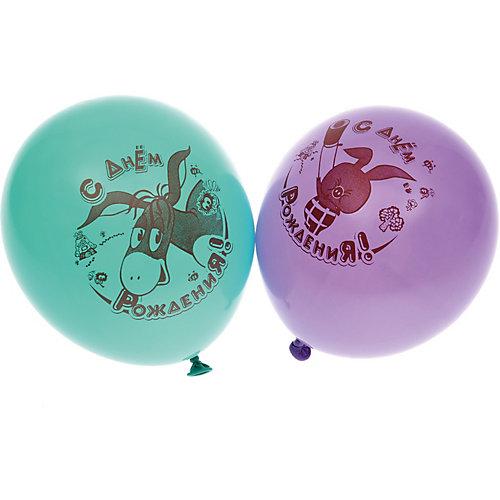 """Воздушные шары Belbal  с рисунком    """"День рождения, Винни-Пух"""" 50 шт от Belbal"""