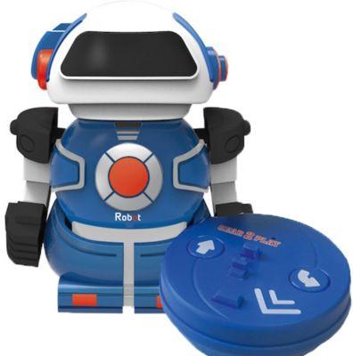 Mini Bot in can blau