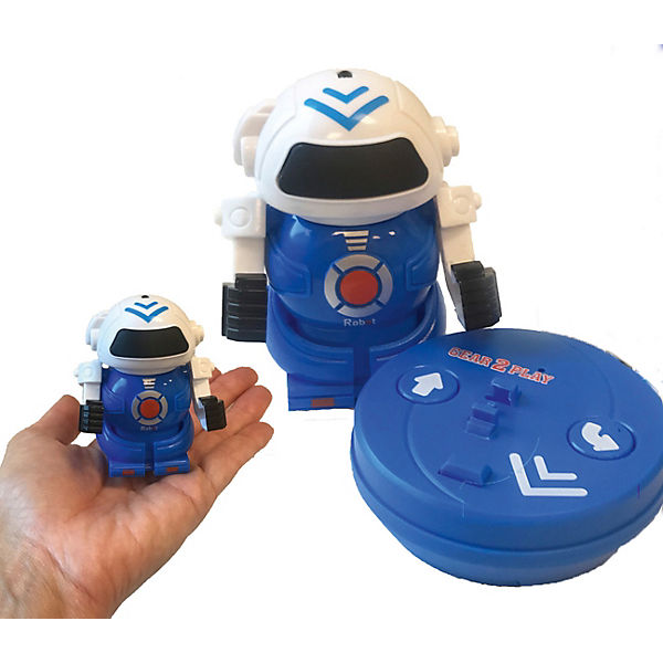 Mini Bot in can blau
