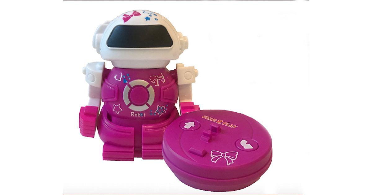 Mini Bot in can rosa