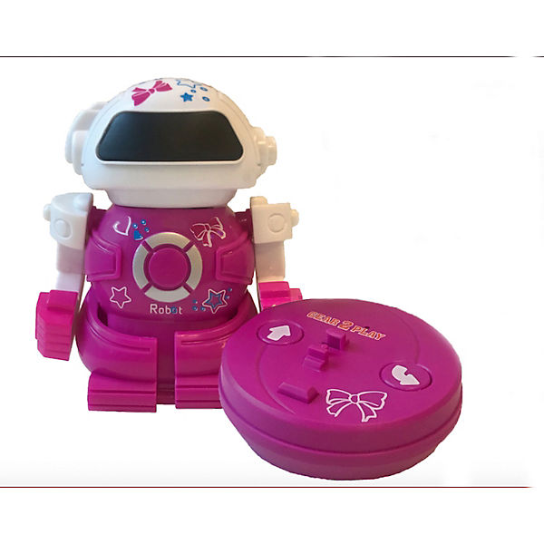 Mini Bot in can rosa