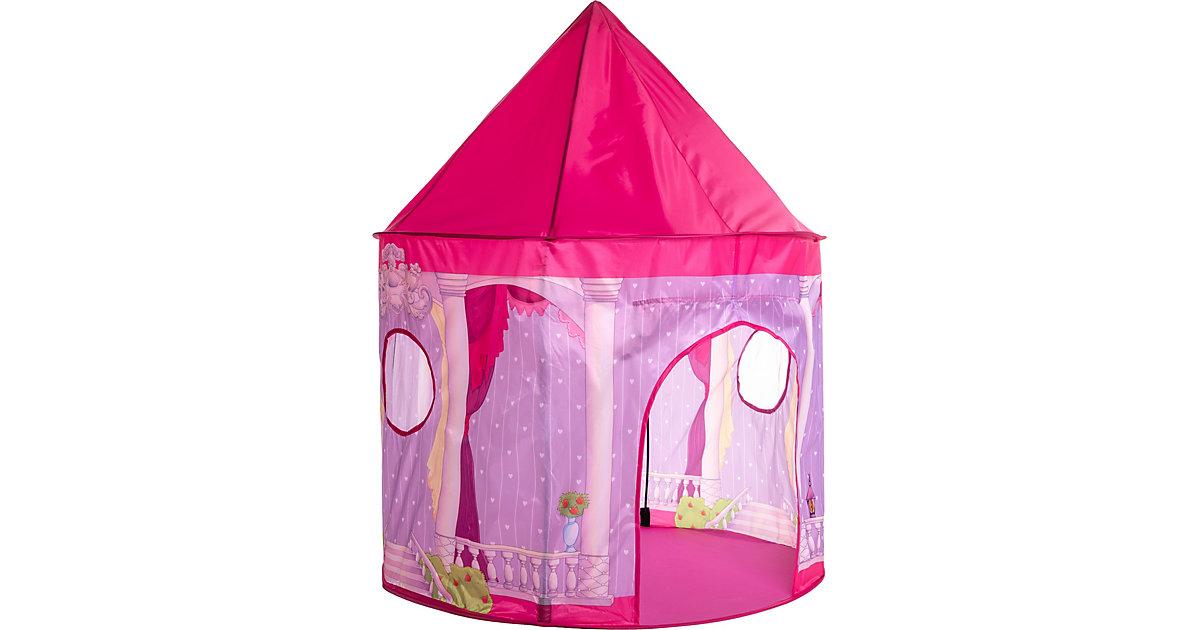 myToys Spielzelt in Tragetasche, Schloss rosa/lila