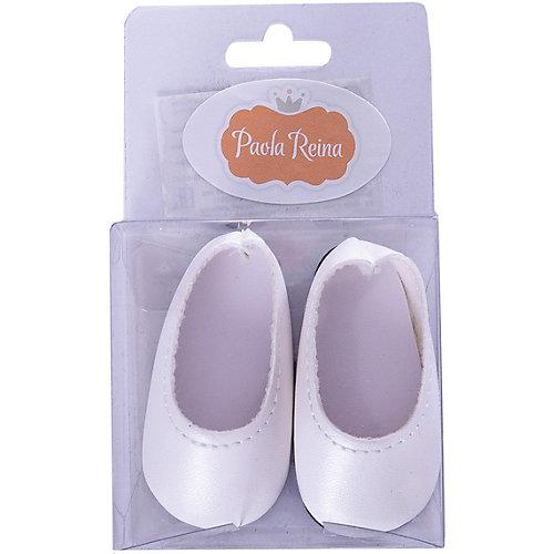Туфли белые, для кукол 32 см от Paola Reina
