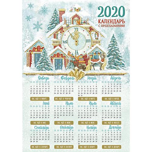 "Календарь с предсказаниями Fenix-present ""Снежный дом"" от Феникс-Презент"