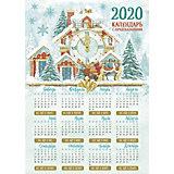 """Календарь с предсказаниями Fenix-present """"Снежный дом"""""""