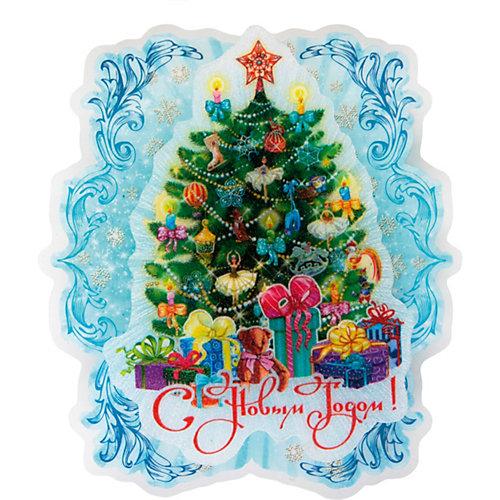 """Новогоднее украшение Fenix-present """"Пушистая елочка"""", с подсветкой от Феникс-Презент"""