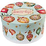 """Подарочная коробка Fenix-present """"Игрушки на голубом"""""""