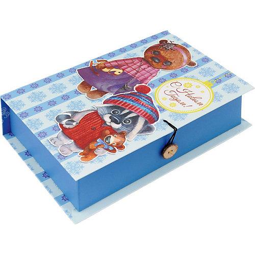 """Подарочная коробка Fenix-present """"Милые игрушки"""" от Феникс-Презент"""
