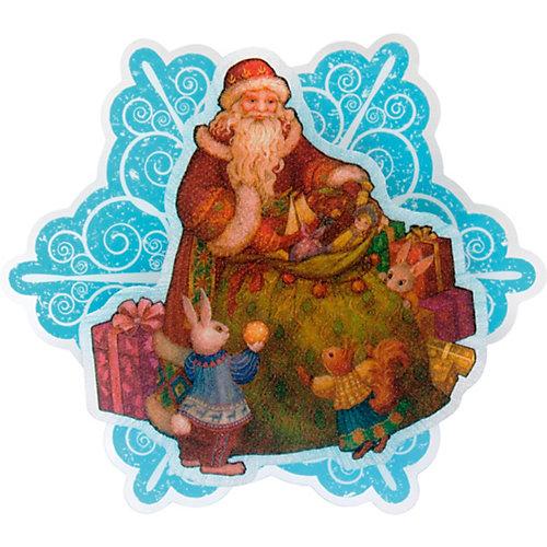 """Новогоднее украшение Fenix-present """"Мешок с подарками"""", с подсветкой от Феникс-Презент"""